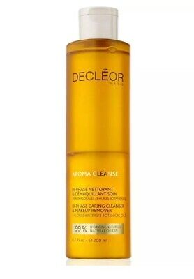 DECLEOR Bi-Phase Caring Cleanser & Makeup Remover ~ 200ml ~ New Fresh Stock • 16.95£