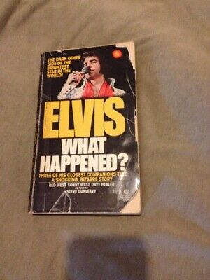AU1000 • Buy Elvis Book  What Happened  Written By His Bodyguards - Autographed - Memorabilia