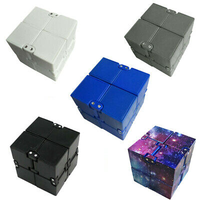 $3.89 • Buy Magic Infinite Cube Stress Relief Infinity Flip Puzzle Anxiety Reliever Kids Toy