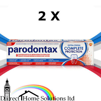 £15.99 • Buy 2 X PARODONTAX TOOTHPASTE COMPLETE PROTECTION 75ml.  UK STOCK  BEST PRICE VALUE