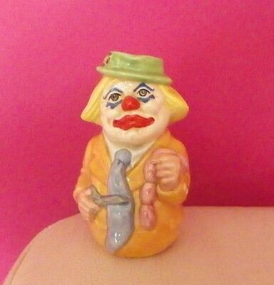 Royal Doulton Doultonville Toby Jug Charlie Cheer The Clown D6768 -  Perfect !! • 45£