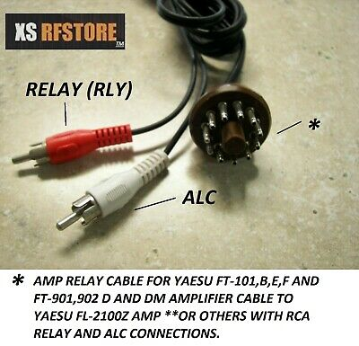 AU46.25 • Buy Amp Cable YAESU FL-2100Z(ALL With ALC AND RELAY)to FT-101,B,E,F, Z,ZD FT-901,2DM