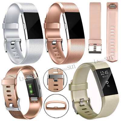 $ CDN7.63 • Buy Replacement Silicone Classic Wrist Watch Band For Fitbit CHARGE 2 Strap Bracelet