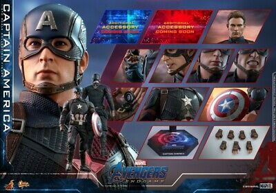 $ CDN477.22 • Buy 1/6 Hot Toys MMS536 Avengers 4 The Final Battle Captain America Figure Gifts Toy