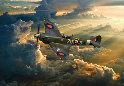Spitfire MH434 ZD-B  2018 Canvas Prints  Various Sizes Free Delivery  • 14.99£