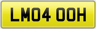 Vip Limo Hire Number Plate Lm04 Ooh - Prom Party Classy Bus Stretch Limousine • 499£