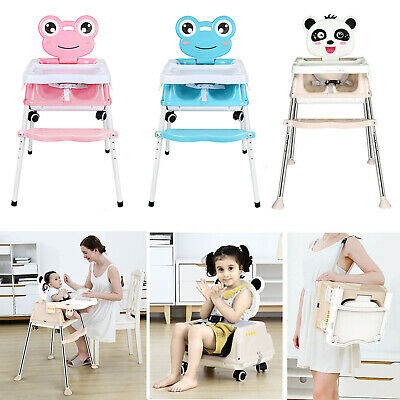 5 In 1 Portable Baby Toddler High Chair Infant Child Folding Feeding Seat New • 35.99£