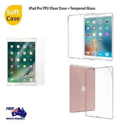 AU6.79 • Buy Apple IPad  Pro 10.5 / 9.7 / 12.9  Soft Clear TPU Protective Case Cover