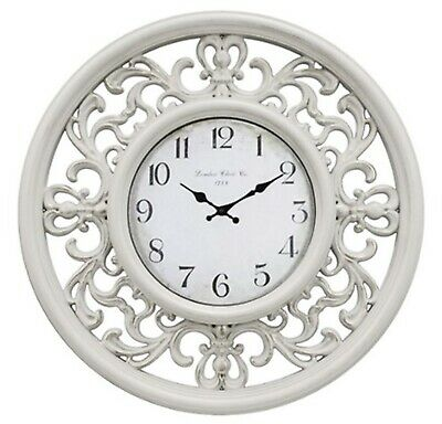 AU29.99 • Buy French Provincial Wall Clock Filigree Home Office Kitchen Décor *30 Cm*