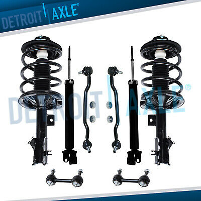 $229.25 • Buy Front & Rear Struts Assembly Shock Absorbers Sway Bars For 04 - 08 Nissan Maxima