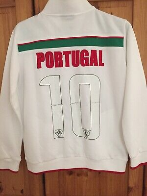 Portugal Football Track Top For Boys Or Girl Size Medium 11/13 Years #10 • 9.99£