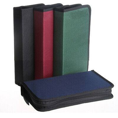 AU13.95 • Buy 80 DVD CD DISC Holder Album Storage Case Folder Wallet Carry Bag Organizer Box