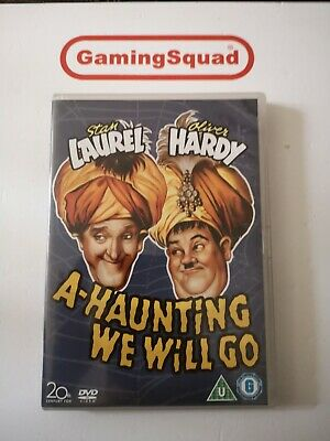 A Haunting We Will Go (Laurel & Hardy) DVD, Supplied By Gaming Squad • 16£