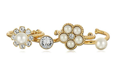 £39.87 • Buy Marc Jacobs Cabochon Pearl Midi Ring, Sizes 3-5