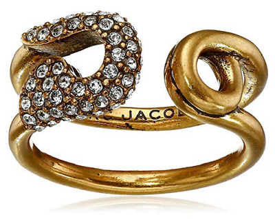 £39.87 • Buy MARC JACOBS Sparkle Flower Stud Ring Gold Tone