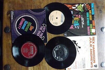 3 X Film Score 7  Single Records - Finians Rainbow, Hits From Shows, My Fair Lad • 5£