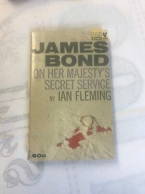 Ian Fleming On Her Majesty,s Secret Service Pan 1st Edition /1st Print Rare 1964 • 1,050£