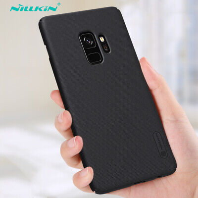 $ CDN8.74 • Buy NILLKIN For Samsung S9 S8+ S7 S6 Edge Shockproof Frosted Shield Hard Black Case
