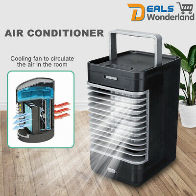 AU43.95 • Buy Portable Mini Air Conditioner Wireless Cooling Fan Humidifier System AU