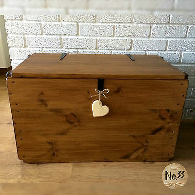 £135 • Buy Handmade Wooden Chest/ Trunk/ Blanket Box/ Toy Box/ Coffee Table