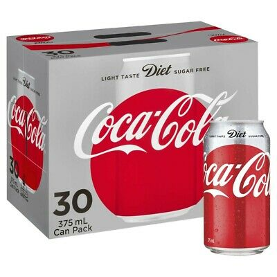 View Details Coca-Cola Diet Coke Multipack Cans 375mL 30 Pack • 22.50AU