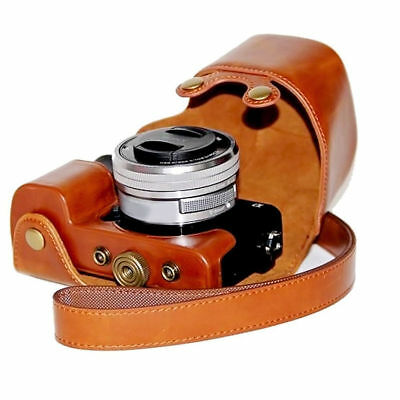 $ CDN15.19 • Buy New Stylish PU Leather Camera Bag Case Cover Pouch For Sony A6000 A6300 NEX6