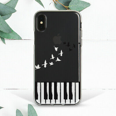 £10.85 • Buy Piano Keyboard Music Birds Notes Case For IPhone 7 8 Plus Xs 11 12 Pro Max XR