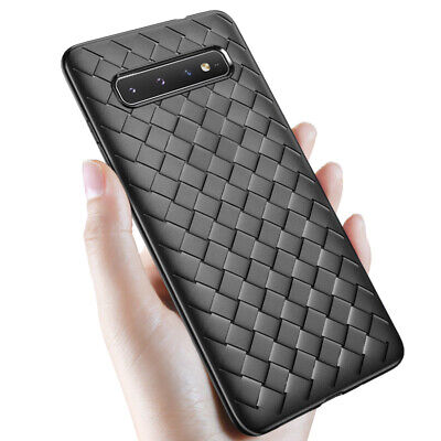 $ CDN3.73 • Buy For Samsung Galaxy S10e S10 S9 S8+ Note 9 8 Slim Silicone TPU Leather Case Cover