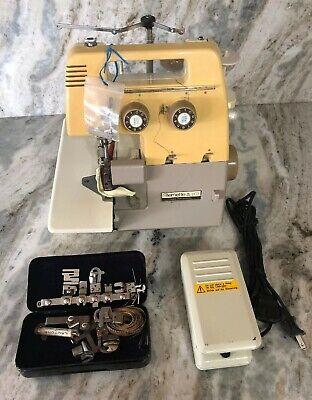 $288.88 • Buy Bernette 203 Sewing Machine W Foot Pedal & Extra Tools/Parts-RARE VINTAGE-SHIP24