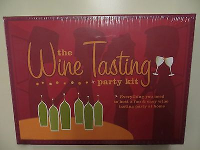 The Wine Tasting Party Kit New Sealed • 19$