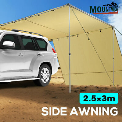 AU159.99 • Buy Mountview 2.5x3M Car Side Awning Extension Roof Rack Covers Tents Shades Camping