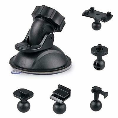 £10.52 • Buy Dash Cam Suction Cup Mount Video Dashcam Holder Stand Bracket 5 Mounts Types