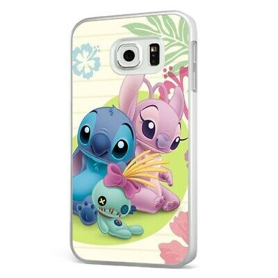 Lilo Stitch Girlfriend Disney WHITE PHONE CASE COVER For SAMSUNG GALAXY • 6.95£