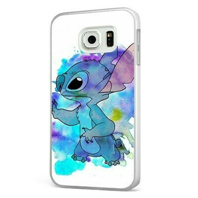 Lilo And Stitch Amazing Colourful Art WHITE PHONE CASE COVER For SAMSUNG GALAXY • 6.95£