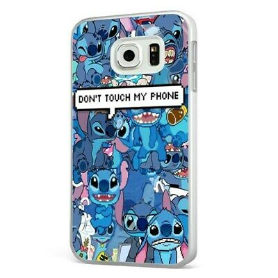 £6.95 • Buy Lilo And Stitch Collage Disney Funny WHITE PHONE CASE COVER For SAMSUNG GALAXY