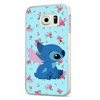£6.95 • Buy Lilo And Stitch Floral WHITE PHONE CASE COVER For SAMSUNG GALAXY