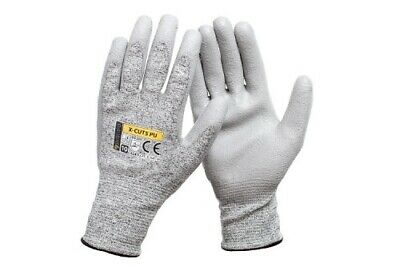 £4.09 • Buy CUT RESISTANT WORK SAFETY GLOVES BUILDERS GRIP PROTECTION Next Day Delivery