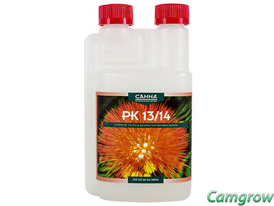 CANNA  Pk 13/14  Flowering Weight Gainer Booster Nutrient 250ml  Hydroponics • 9.95£