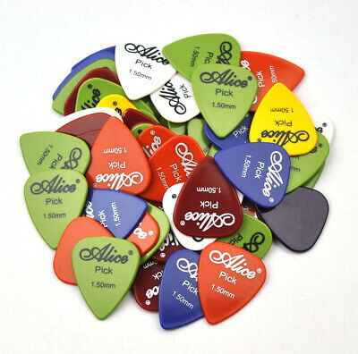 $ CDN16.92 • Buy 100Pcs Alice Extra Heavy1.5mm ABS Smooth Guitar Picks Plectrums Electric Guitar