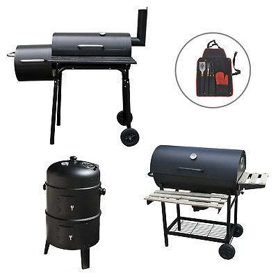 £117.95 • Buy Outdoor Garden Bbq Smokers Smoking Cooking Patio Barbeque Grill Coal Barbecue