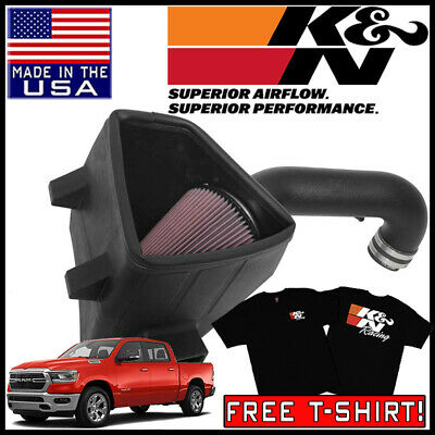 "Filter For 03-08 Ram 1500//2500//3500 5.7L V8 3/"" BLACK Cold Air Intake System"