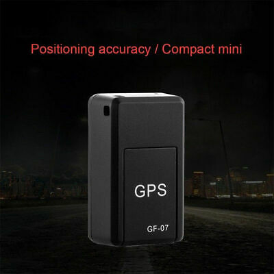 AU16.75 • Buy GF-07 Mini GPS Real Time Car Locator Tracker Magnetic GSM/GPRS Tracking Device K