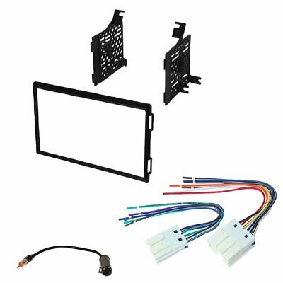 $39.99 • Buy Double DIN Car Stereo Radio Dash Install Kit 2004-2007 For Nissan Titan