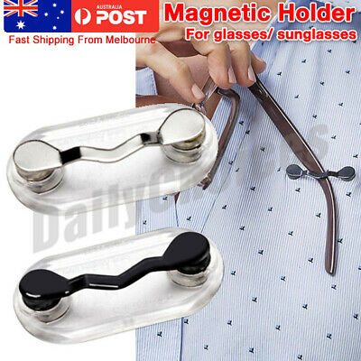 AU7.69 • Buy AU Magnetic Glasses Holder Readerest Spectacles Sunglasses Brooch Chain Cord