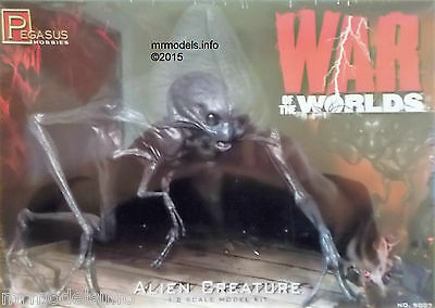 Pegasus 1/8 Alien Creature From The War Of The Worlds New Plastic Model Kit 9007 • 39.95£