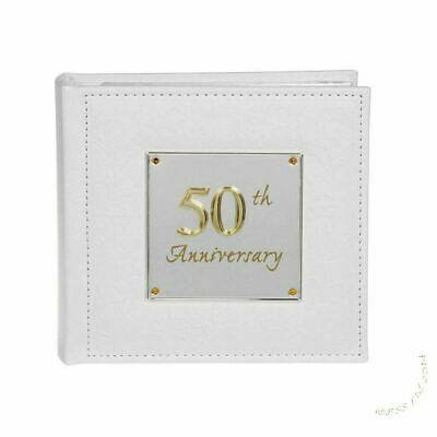 £16.95 • Buy Deluxe 50th Anniversary Photo Album By Shudehill Giftware