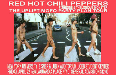 $13.99 • Buy Red Hot Chili Peppers Replica 1995 Concert Poster