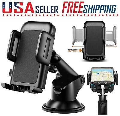 $9.99 • Buy Cell Phone Car Windshield Dashboard Mount Holder Stand 360 Rotation Universa GPS