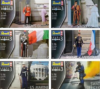 Revell 1/16 Figure New Plastic Model Kit Military 1 16 • 14.95£