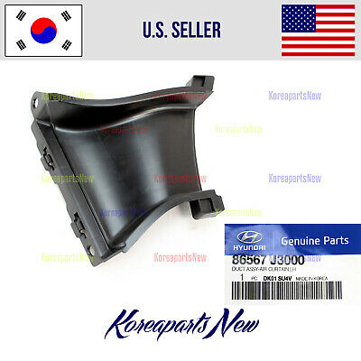 $19.02 • Buy Front Bumper Air Duct Left DRIVER ⭐86567J3000⭐ For Hyundai Veloster 2019-2020